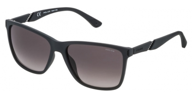 Sunglasses - Police - SPL529 SPEED 10 - 09U5 RUBBER DARK GREY // GREY GRADIENT
