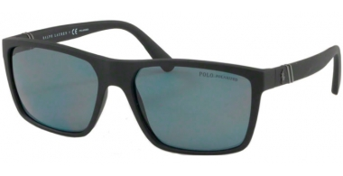 Sunglasses - POLO Ralph Lauren - PH4133 - 528481 MATTE BLACK // GREY POLARIZED