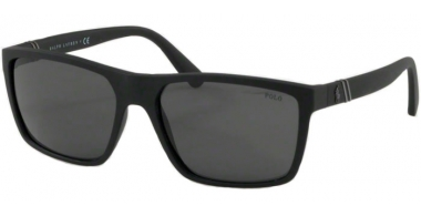 Sunglasses - POLO Ralph Lauren - PH4133 - 528487 MATTE BLACK // DARK GREY