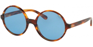 Sunglasses - POLO Ralph Lauren - PH4136 - 500772 STRIPPED HAVANA // AZURE