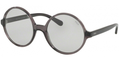Sunglasses - POLO Ralph Lauren - PH4136 - 532087 TRANSPARENT BLACK // PALE GREY