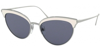 Sunglasses - Prada - SPR 60VS - 406420 SILVER IVORY // BLUE