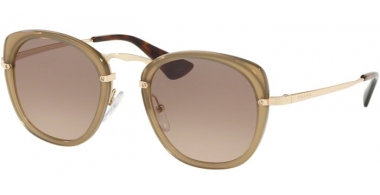 Sunglasses - Prada - SPR 58US - 31D3D0 BROWN // BROWN GRADIENT GREY