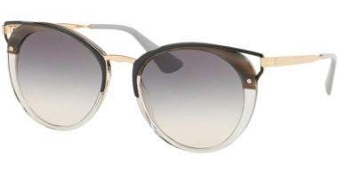 Sunglasses - Prada - SPR 66TS - MRU130 STRIPED GREY // GREY GRADIENT