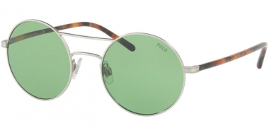 Sunglasses - POLO Ralph Lauren - PH3108 - 932671 AGED SILVER // VINTAGE GREEN