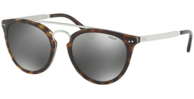 Sunglasses - POLO Ralph Lauren - PH4121 - 50036G SHINY DARK HAVANA // FLASH SILVER MIRROR