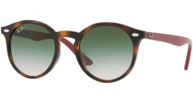 Frames Junior - Ray-Ban® Junior Collection - RJ9064S - 70442C HAVANA // LIGHT BROWN GRADIENT GREEN