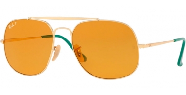 Gafas de Sol - Ray-Ban® - Ray-Ban® RB3561 GENERAL - 9105N9 GOLD // YELLOW POLARIZED