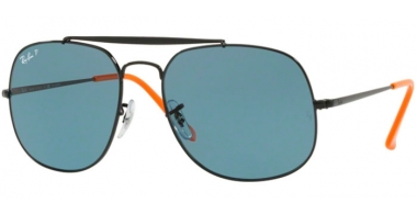 Gafas de Sol - Ray-Ban® - Ray-Ban® RB3561 GENERAL - 910752 BLACK // BLUE POLARIZED
