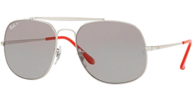 Gafas de Sol - Ray-Ban® - Ray-Ban® RB3561 GENERAL - 9108P2 SILVER // GREY POLARIZED