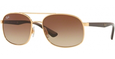 Gafas de Sol - Ray-Ban® - Ray-Ban® RB3593 - 001/13 GOLD // BROWN GRADIENT