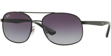 Gafas de Sol - Ray-Ban® - Ray-Ban® RB3593 - 002/8G BLACK // GREY GRADIENT