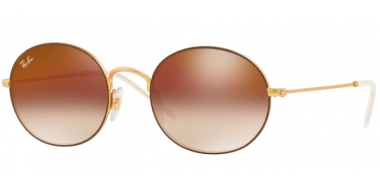 Gafas de Sol - Ray-Ban® - Ray-Ban® RB3594 - 9115S0 RUBBER GOLD ON BROWN // BROWN GRADIENT MIRROR RED