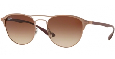 Sunglasses - Ray-Ban® - Ray-Ban® RB3596 - 909213 LIGHT BROWN ON TOP MATTE // BROWN GRADIENT DARK BROWN