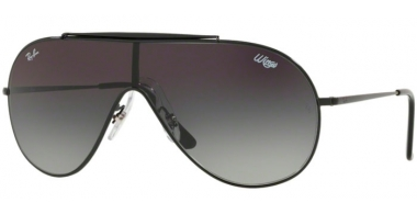 Sunglasses - Ray-Ban® - Ray-Ban® RB3597 - 002/11 BLACK // GREY GRADIENT DARK GREY