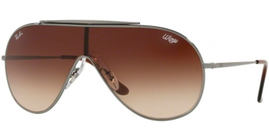 Sunglasses - Ray-Ban® - Ray-Ban® RB3597 - 004/13 GUNMETAL // BROWN GRADIENT