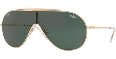 Sunglasses - Ray-Ban® - Ray-Ban® RB3597 - 905071 GOLD // DARK GREEN