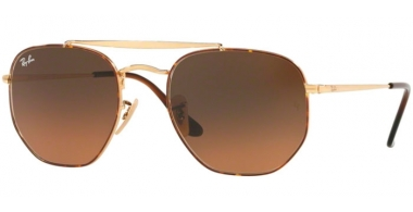 Gafas de Sol - Ray-Ban® - Ray-Ban® RB3648 MARSHAL - 910443 HAVANA // BROWN GRADIENT GREY