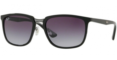 Sunglasses - Ray-Ban® - Ray-Ban® RB4303 - 601/8G BLACK // GREY GRADIENT