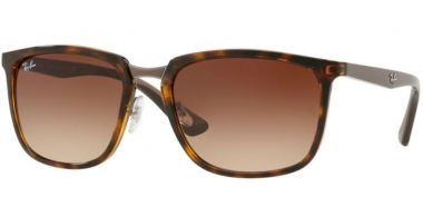 Sunglasses - Ray-Ban® - Ray-Ban® RB4303 - 710/13 LIGHT HAVANA // BROWN GRADIENT