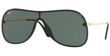 Sunglasses - Ray-Ban® - Ray-Ban® RB4311N - 601/71 BLACK // GREEN