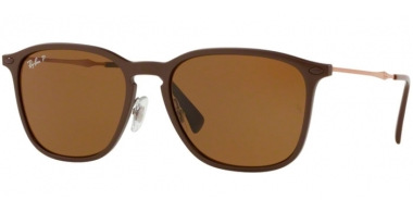 Sunglasses - Ray-Ban® - Ray-Ban® RB8353 - 635083 BROWN GRAPHENE // DARK BROWN POLARIZED