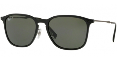 Sunglasses - Ray-Ban® - Ray-Ban® RB8353 - 63519A BLACK GRAPHENE // DARK GREEN POLARIZED
