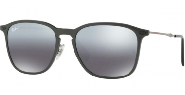 Sunglasses - Ray-Ban® - Ray-Ban® RB8353 - 635282 GREY GRAPHENE // GREY MIRROR GRADIENT POLARIZED