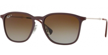 Sunglasses - Ray-Ban® - Ray-Ban® RB8353 - 6354T5 VIOLET GRAPHENE // LIGHT GREY GRADIENT BROWN