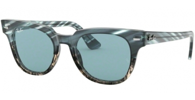 Sunglasses - Ray-Ban® - Ray-Ban® RB2168 METEOR - 125262 BLUE GRADIENT GREY STRIPPED // LIGHT BLUE