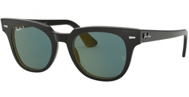 Sunglasses - Ray-Ban® - Ray-Ban® RB2168 METEOR - 901/52 BLACK // BLUE GOLD MIRROR POLARIZED