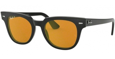 Sunglasses - Ray-Ban® - Ray-Ban® RB2168 METEOR - 901/N9 BLACK // YELLOW GOLD MIRROR POLARIZED
