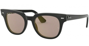 Sunglasses - Ray-Ban® - Ray-Ban® RB2168 METEOR - 901/P2 BLACK // GREY GOLD MIRROR POLARIZED