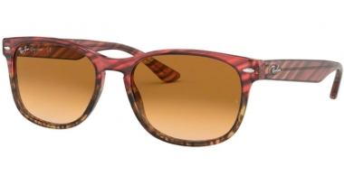 Sunglasses - Ray-Ban® - Ray-Ban® RB2184 - 125351 PINK GRADIENT BEIGE STRIPPED // BROWN GRADIENT