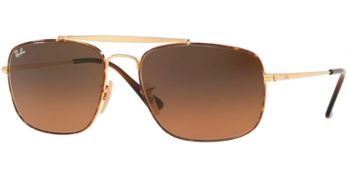 Sunglasses - Ray-Ban® - Ray-Ban® RB3560 THE COLONEL - 910443 HAVANA // BROWN GRADIENT GREY