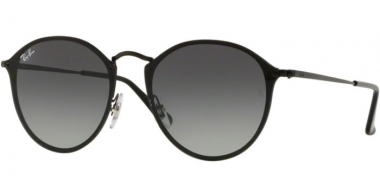 Sunglasses - Ray-Ban® - Ray-Ban® RB3574N BLAZE ROUND - 153/11 BLACK // GREY GRADIENT DARK GREY