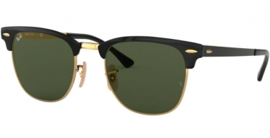 Gafas de Sol - Ray-Ban® - Ray-Ban® RB3716 - 187 GOLD TOP ON BLACK // GREEN