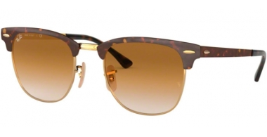 Gafas de Sol - Ray-Ban® - Ray-Ban® RB3716 - 900851 GOLD TOP HAVANA // CLEAR GRADIENT BROWN