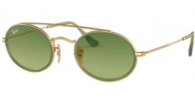 Sunglasses - Ray-Ban® - Ray-Ban® RB3847N - 91224M GOLD // GREEN GRADIENT