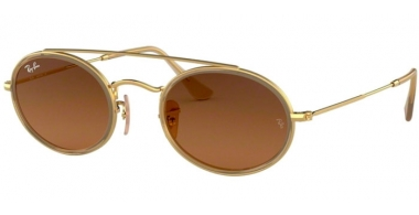 Sunglasses - Ray-Ban® - Ray-Ban® RB3847N - 912443 GOLD // BROWN GREY GRADIENT