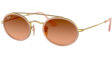 Sunglasses - Ray-Ban® - Ray-Ban® RB3847N - 9125A5 GOLD // PINK BROWN GRADIENT