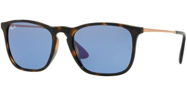 Gafas de Sol - Ray-Ban® - Ray-Ban® RB4187 CHRIS - 639276 HAVANA // BLUE