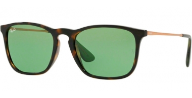 Gafas de Sol - Ray-Ban® - Ray-Ban® RB4187 CHRIS - 6393/2 HAVANA // GREEN