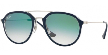 Gafas de Sol - Ray-Ban® - Ray-Ban® RB4253 - 60533A BLUE // CLEAR GRADIENT GREEN