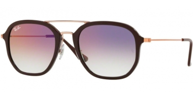 Gafas de Sol - Ray-Ban® - Ray-Ban® RB4273 - 6335S5 CHOCCOLATE // CLEAR GRADIENT VIOLET