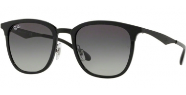Sunglasses - Ray-Ban® - Ray-Ban® RB4278 - 628211 BLACK MATTE BLACK // GREY GRADIENT DARK GREY