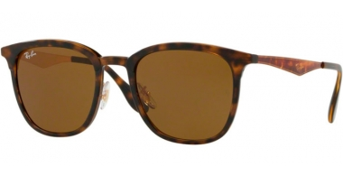 Sunglasses - Ray-Ban® - Ray-Ban® RB4278 - 628373 HAVANA MATTE HAVANA // DARK BROWN