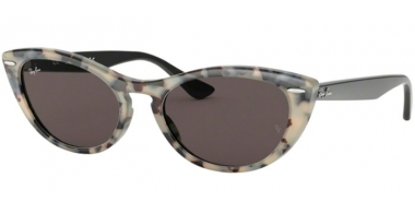 Sunglasses - Ray-Ban® - Ray-Ban® RB4314N - 125139 HAVANA BEIGE // GREY GOLD MIRROR