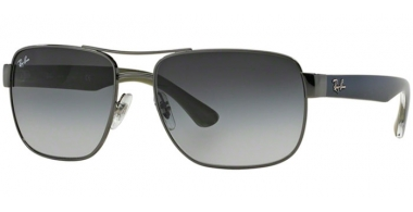 Sunglasses - Ray-Ban® - Ray-Ban® RB3530 - 004/8G GUNMETAL // GREY GRADIENT