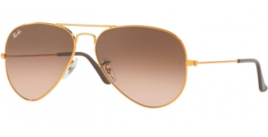 Gafas de Sol - Ray-Ban® - Ray-Ban® RB3025 AVIATOR LARGE METAL - 9001A5 SHINY LIGHT BRONZE // PINK GRADIENT BROWN